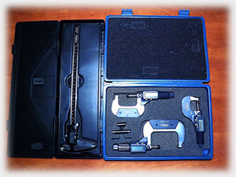 Digital caliper and micrometers