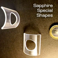 Sapphire special shapes