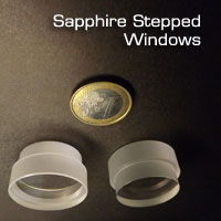 Sapphire stepped windows
